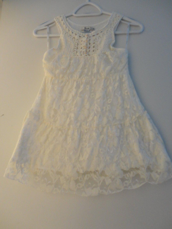 White Dress Small Size