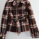 Women's Plus Belted Jacket