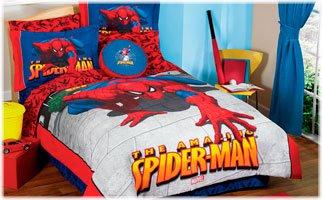 SPIDERMAN COMFORTER TWIN SIZE