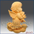 2D Food Grade Silicone Mold - Praying Angel -Hariel
