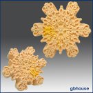 Silicone Soap n Floating Candle Mold  Snowflake 8