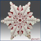 2D Silicone Soap Mold – Snowflake # 9