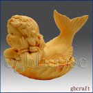3D Silicone Soap/Candle Mold – Baby Girl Mermaid