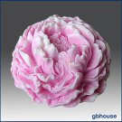 3-D Silicone Soap/Candle Mold - Ruffled Peony