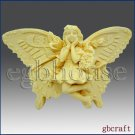 2D Silicone Soap Mold - MelindaLee the Butterfly fairy