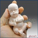 3D Silicone Guest Soap/Candle Mold - Sleeping Baby - Free Shipping