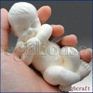 3D Silicone Soap Mold-Lifelike Baby Jayden (2 parts assembledmold)