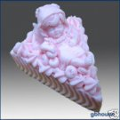 Silicone Soap Mold – Babycakes – Baby Fairy on Cake