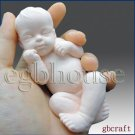 3D Silicone Soap Mold-Lifelike Baby Ryan (2 parts assembledmold)