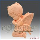 2D Food Grade Silicone Mold - Lay me down to Sleep