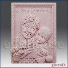 2D Silicone mold / Soap Mold - I love Grandma