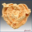2D Silicone Soap Mold - Angelheart Mother & Child