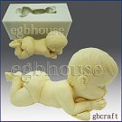 2 1/2D Silicone Guest/embed Soap Mold - Cutie Baby - free shipping