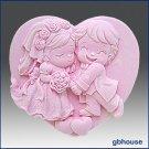 2D Silicone Soap Mold – Cutest Couple