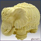 3D Silicone Candle Mold – Festive Elephant