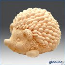 Silicone Soap & Candle Mold – 3D Hedgehog mother