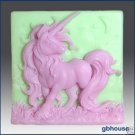 Slicone Soap Mold -Elissa the Unicorn Queen