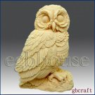 2D Silicone Soap Mold – Owl