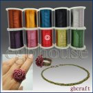 COLORED CRAFT WIRE - 26 gauge 18meters - red color