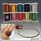COLORED CRAFT WIRE - 26 gauge 18meters - purple color