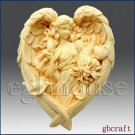2D Soap Silicone Mold – Angel of the Seasons- Autumn