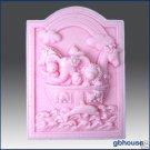 Noah Ark Silicone Soap Mold