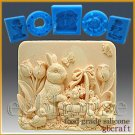 Food Grade Silicone Chocolate/fondant Mold - Missy's Garden & Bunny
