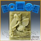 Food Grade Silicone Chocolate/fondant Mold -- Luna- Fairy of the Moon