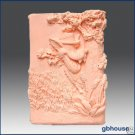Silicone Soap/Plaster Mold- Three Little Pigs- Wolf