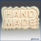 "Silicone Soap Mold –Great Impressions Ripple ""HANDMADE"""