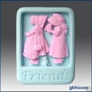 Friends – 2D Silicone Soap Mold