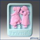 Friends – 2D Silicone Soap Mold