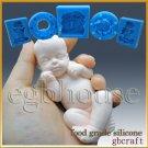3D Silicone Soap/sugar/fondant/chocolat Mold-Lifelike Baby Ryan-free shipping