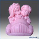 3D Soap and Candle Mold – Just Married
