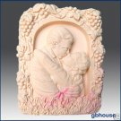 2D Silicone Soap Mold– A Kiss to Remember