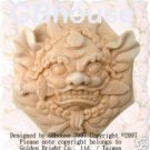 Classical Asian Lion - Silicone Soap Mold