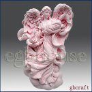 2D Silicone Soap Mold - Mother Angel's Loving Wings *2