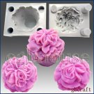 3D Silicone Soap/Candle Mold - Glorious Carnation