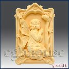 2D Cancer Pray Angel of Compassion Silicone Mold