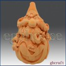 3D Soap and Silicone Mold - Halloween Pumpkin Wizard