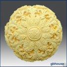 Silicone Soap Mold –Round Rosette
