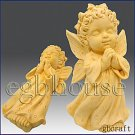 2 1/2D Silicone Soap Mold - Praying Angel Girl - Charmeine - FREE SHIPPING