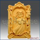 2D Taurus Pray Angel of Compassion Silicone Mold - girl
