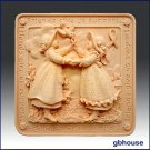 Soap and Candle Mold  Friends Give Us Support