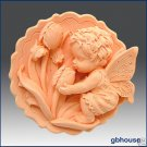 Soap and Candle Mold  Fairy Girl Iris