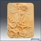 Silicone Soap Mold – Cathy Fairy of the Calla Lilies