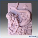Mermaid Shelly  2D Silicone Soap Mold