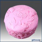 Fishes and Good Wishes – 2D Silicone Soap Mold