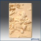 Silicone Soap Mold  Fiddling Piggy