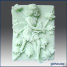 2D Silicone Soap Mold–Melinda, Fairy of the Maple Trees